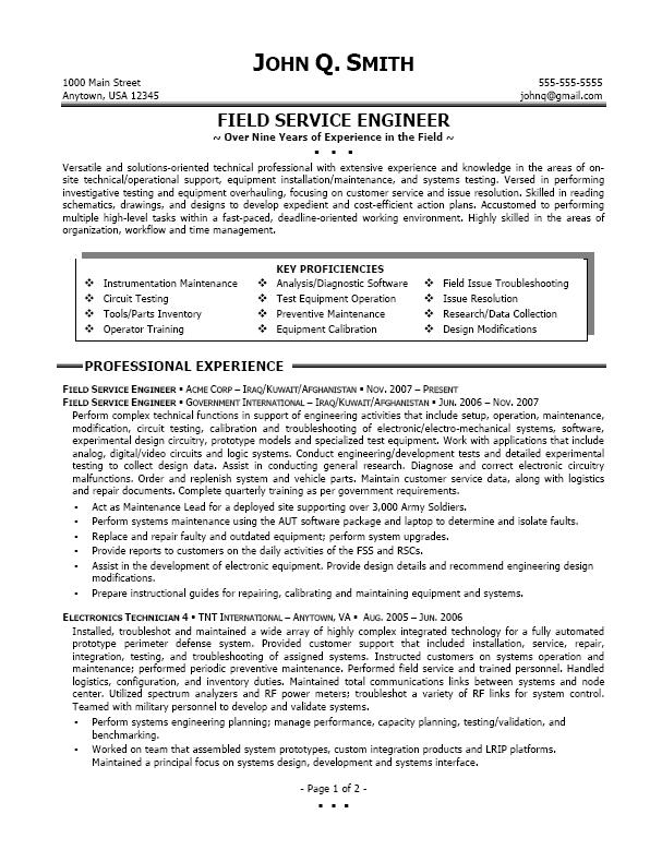 Sign Up to Serve - Leadership and Service The University of - outside plant engineer sample resume