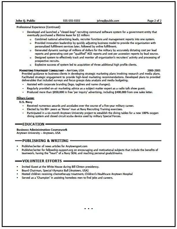 Executive Project Manager Resume Writer - The Resume Clinic