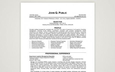 Resume Samples Archives - The Resume Clinic