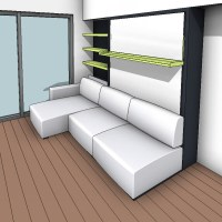 Resource Furniture Murphy Bed