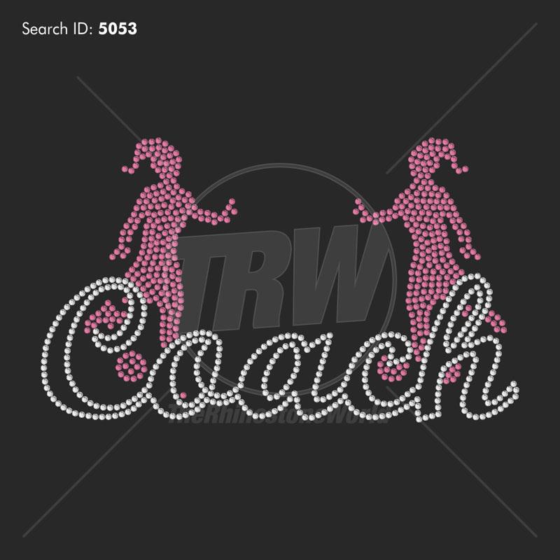 Soccer Coach 33 - Pre-Cut Template