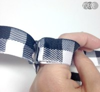 Adjustable Strap Bow Tie Tutorial - The Ribbon Retreat Blog