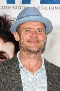 """BEVERLY HILLS, CA - NOVEMBER 13: Musician Flea arrives at the Los Angeles premiere of Focus Features' """"Milk"""" held at the Academy of Motion Picture Arts and Sciences on November 13, 2008 in Beverly Hills, California. (Photo by Valerie Macon/Getty Images)"""