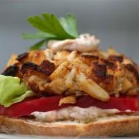 Daniel Boulud's Crab Cake Sandwich