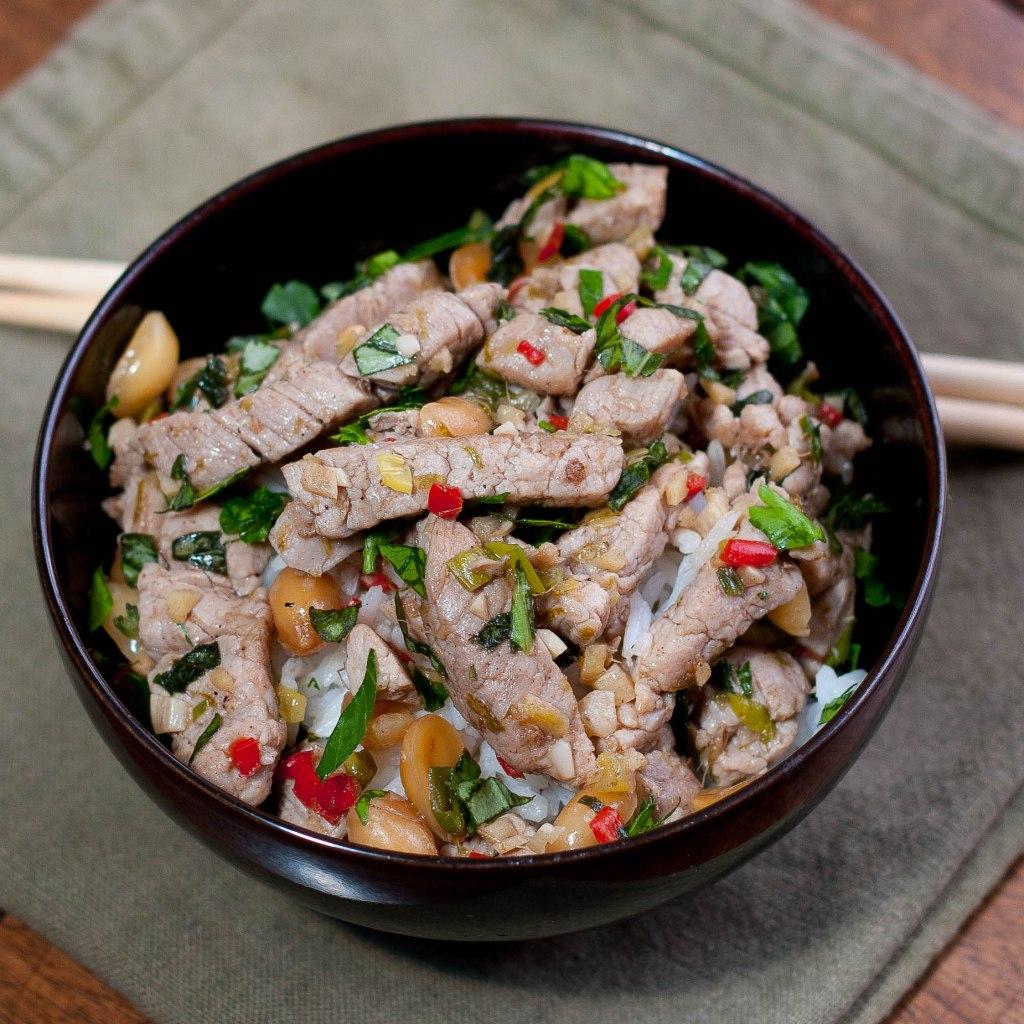 vietnamese pork stirfry