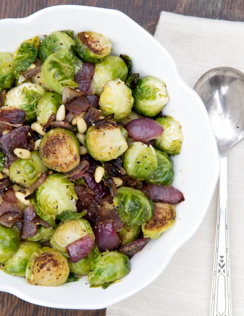 Flash Roasted Brussels Sprouts