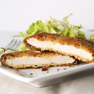 Crispy Chicken with Two Mustards