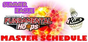 2016 Rim summer league schedule