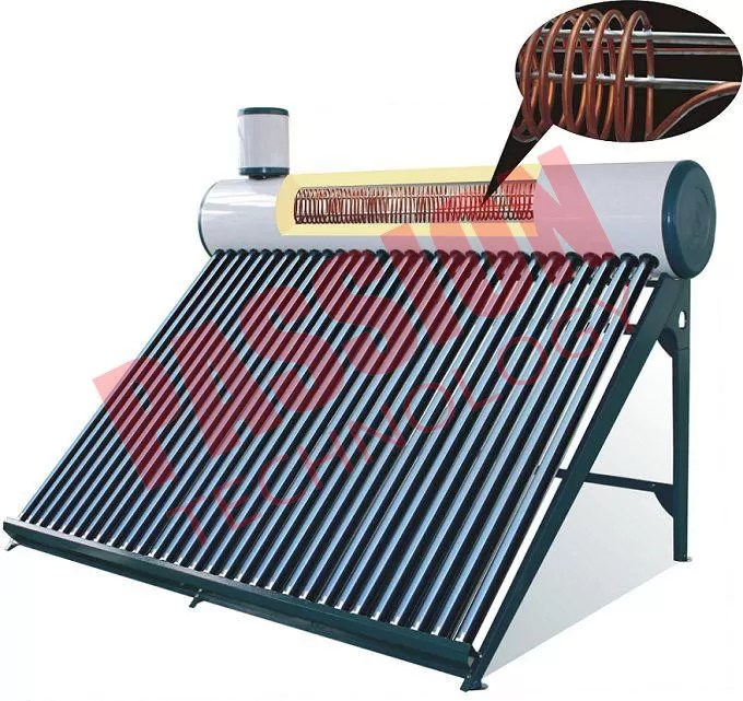 High Efficiency Pre Heated Solar Water Heater For Homes