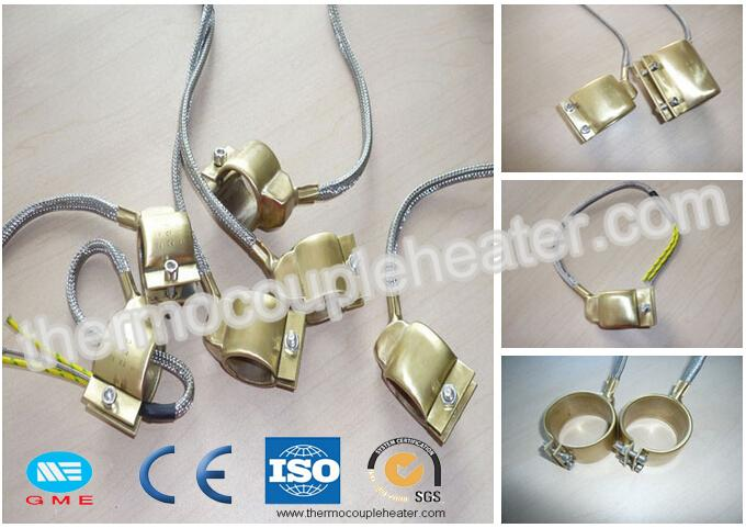Brass Nozzle Coil Heaters Extruder Band Mica Heater With