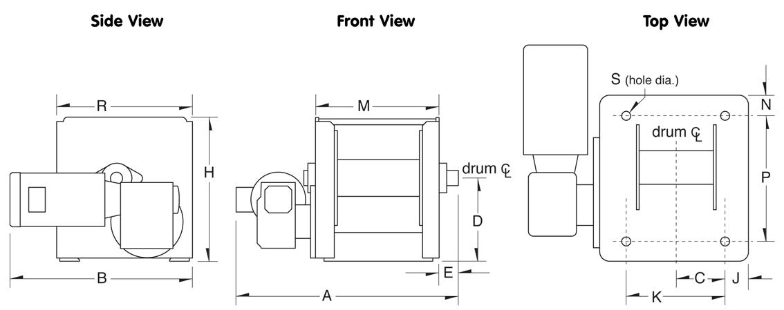 Thern Winch Wiring Diagram - 1711nuerasolar \u2022