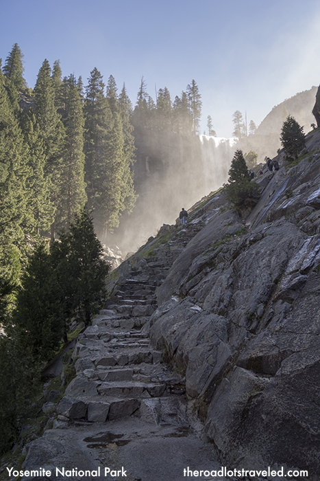 Granite Steps of the Mist Trail