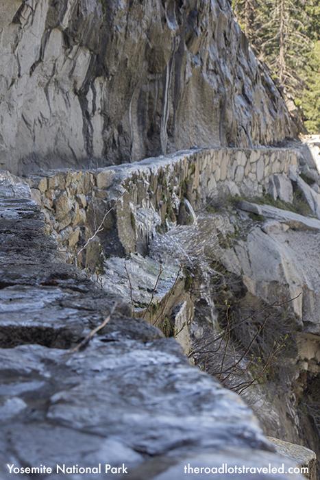 Icy John Muir Trail