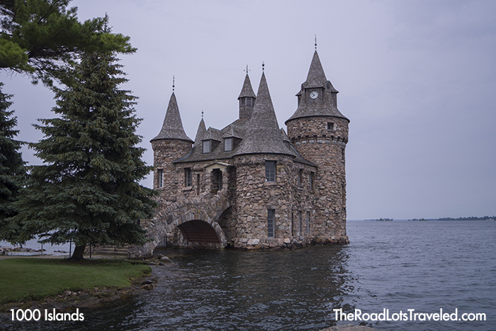 Power House at Boldt Castle on Heart Island in 1000 Islands