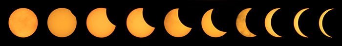 10 steps of the Great American Eclipse