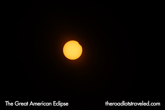 The Great American Eclipse Begins