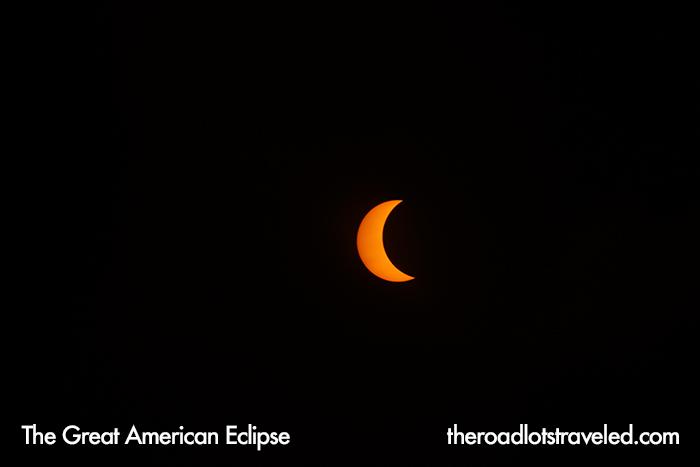 The Great American Eclipse progresses