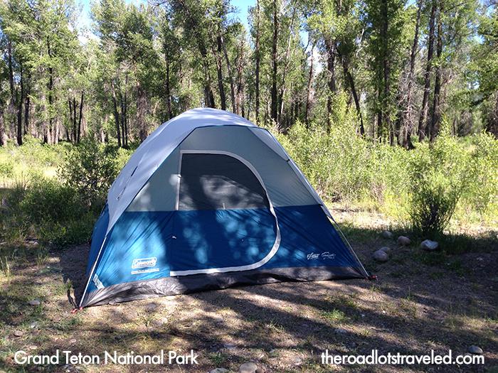Grand Teton National Park Camping