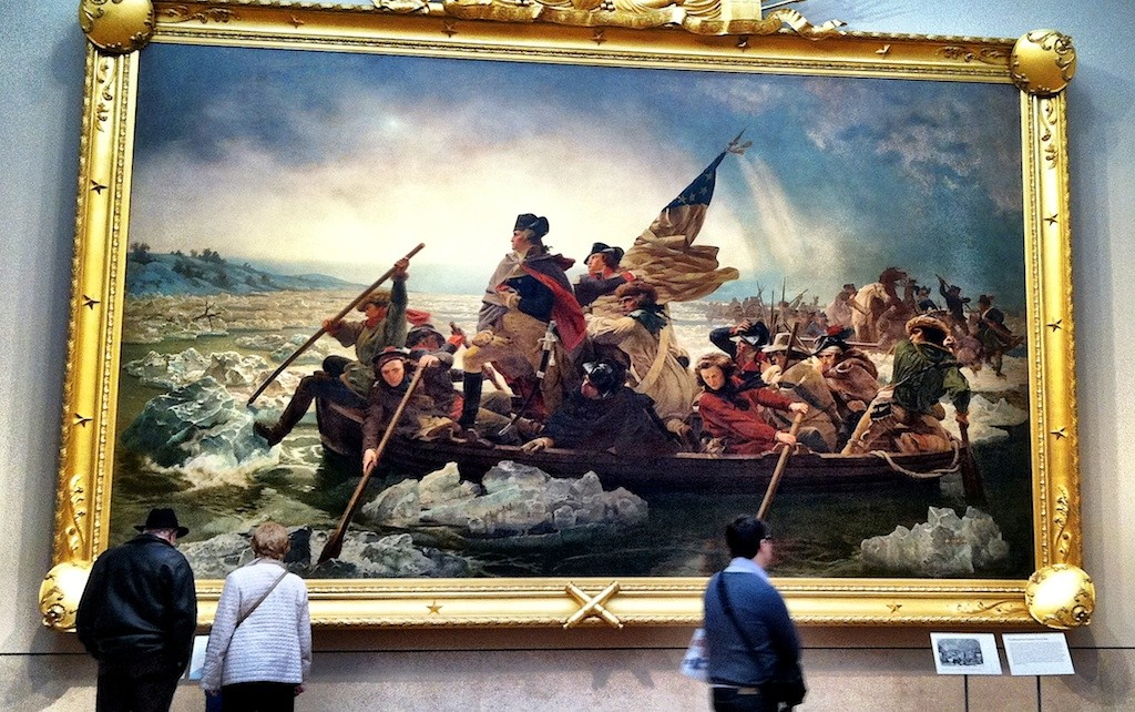 Washington Crossing the Delaware - Metropolitan Museum of Art The