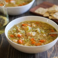 Crock Pot Chicken and Rice Soup