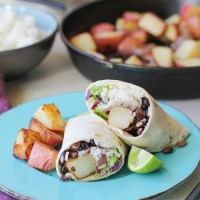 Vegan Breakfast Burritos + Cookbook Review & Giveaway