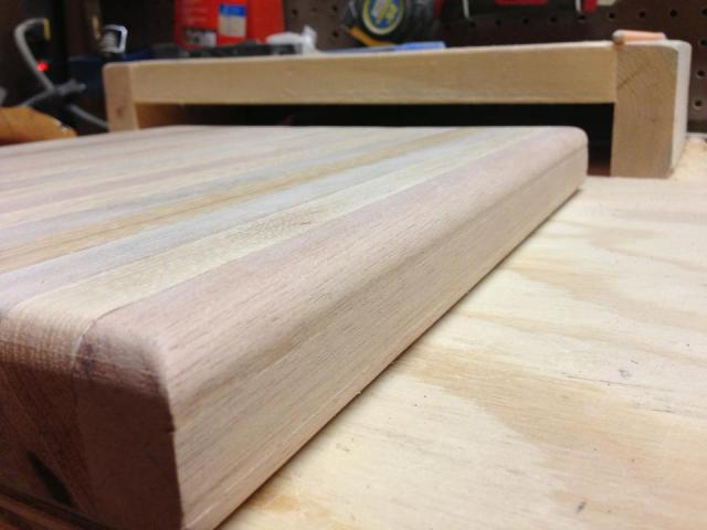 Router diy cutting board
