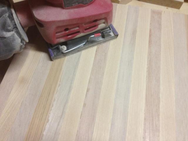 DIY cutting board