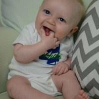 Everett James Rodimel - 4 Months Old