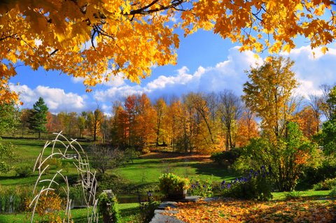 Fall Landscape Wallpapers Free Bed And Breakfast In Vermont Incomparable Inn Amp Grounds