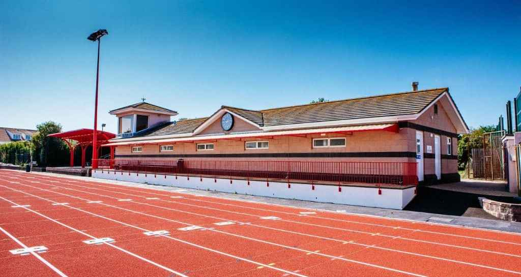 F.B. Fields Athletics Track, St Clement