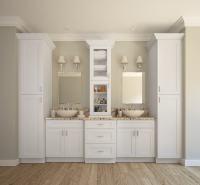 Aspen White Shaker - Ready to Assemble Bathroom Vanities ...