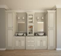 Signature Vanilla Glaze - Ready to Assemble Bathroom ...