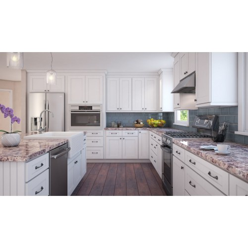 Medium Crop Of White Cabinets Kitchen