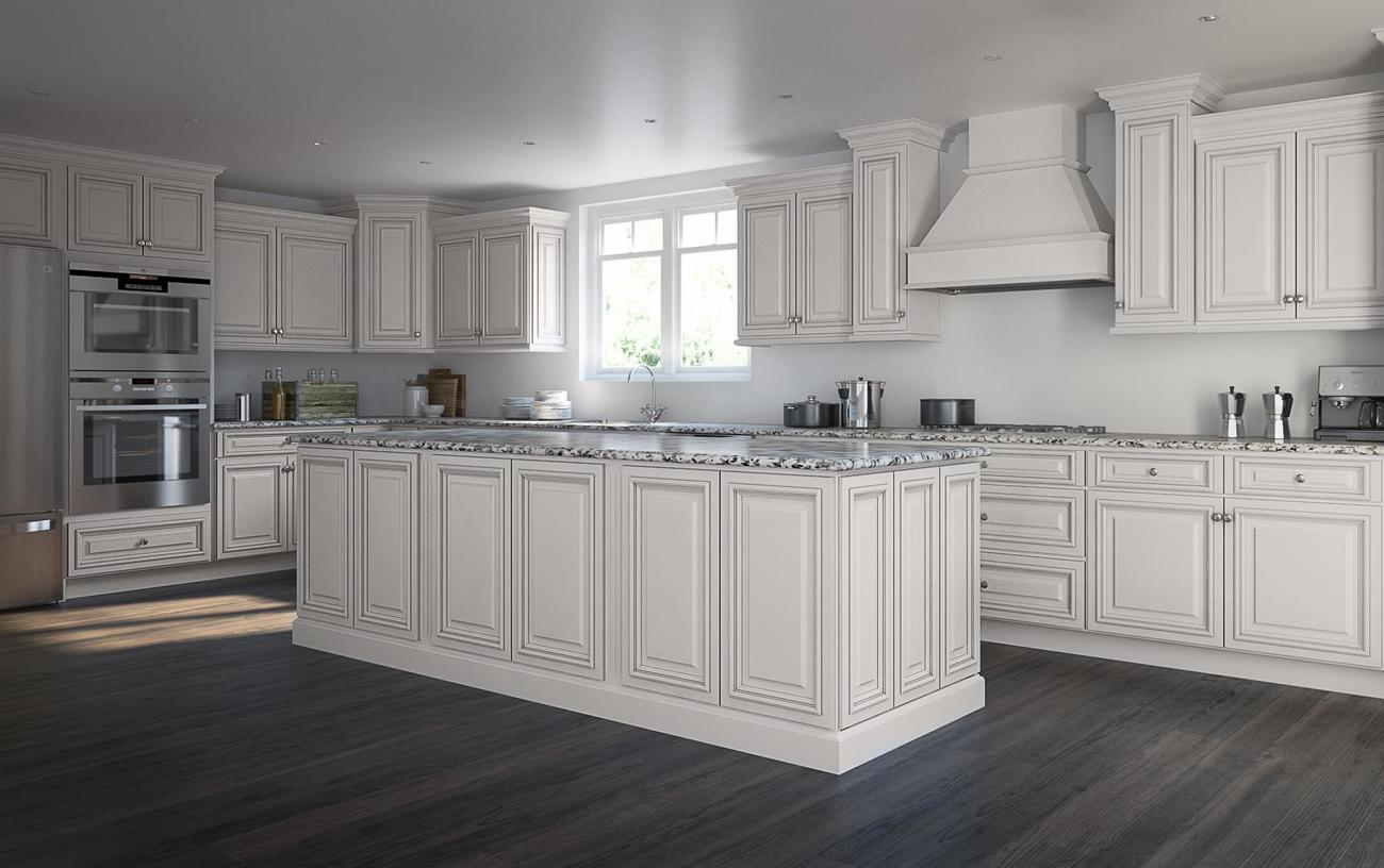 Roosevelt White Pre Assembled Kitchen Cabinets The Rta Store