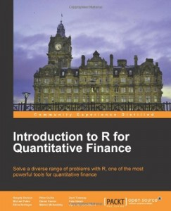 Introduction to R for Quantitative Finance - cover picture