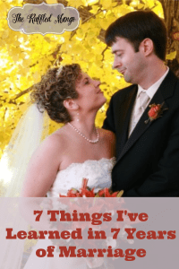 7 Things I've Learned in 7 Years of Marriage