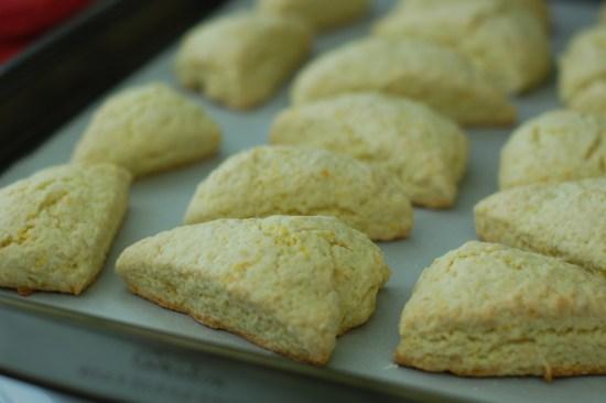 11. Baked scones