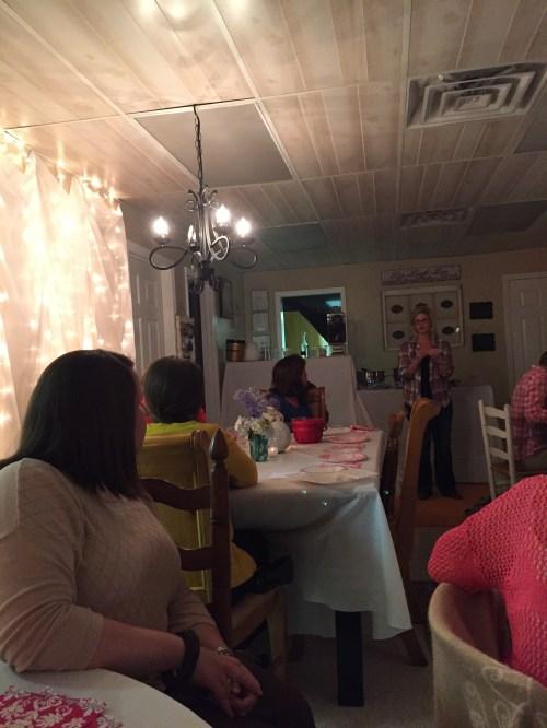 Women's mentoring meeting