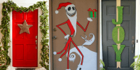 Frozen 3d Christmas Door Decorating Ideas | www.imagenesmy.com