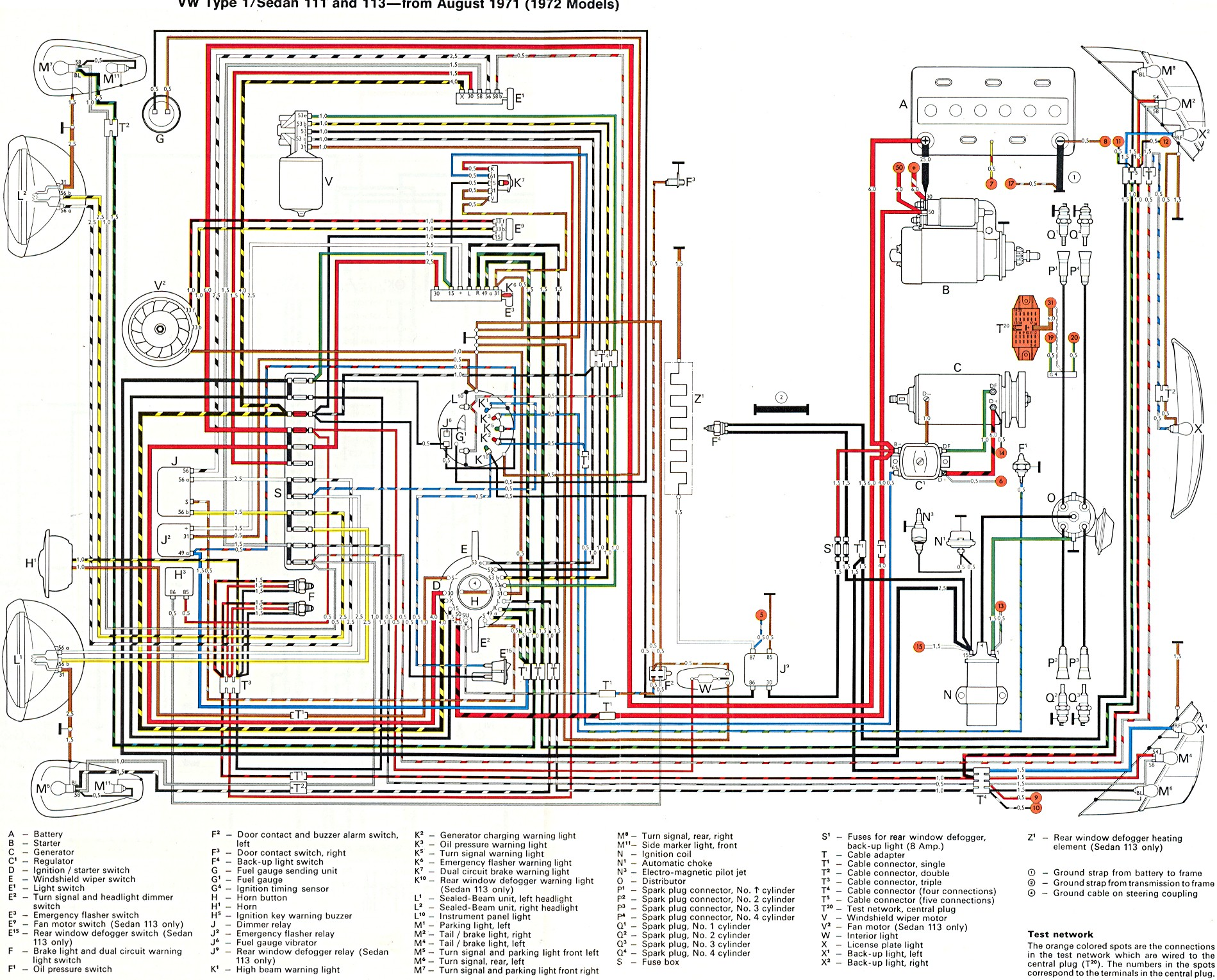 72 Vw Fuse Box Auto Electrical Wiring Diagram 1968 Beetle Charging System Super Get Free Image