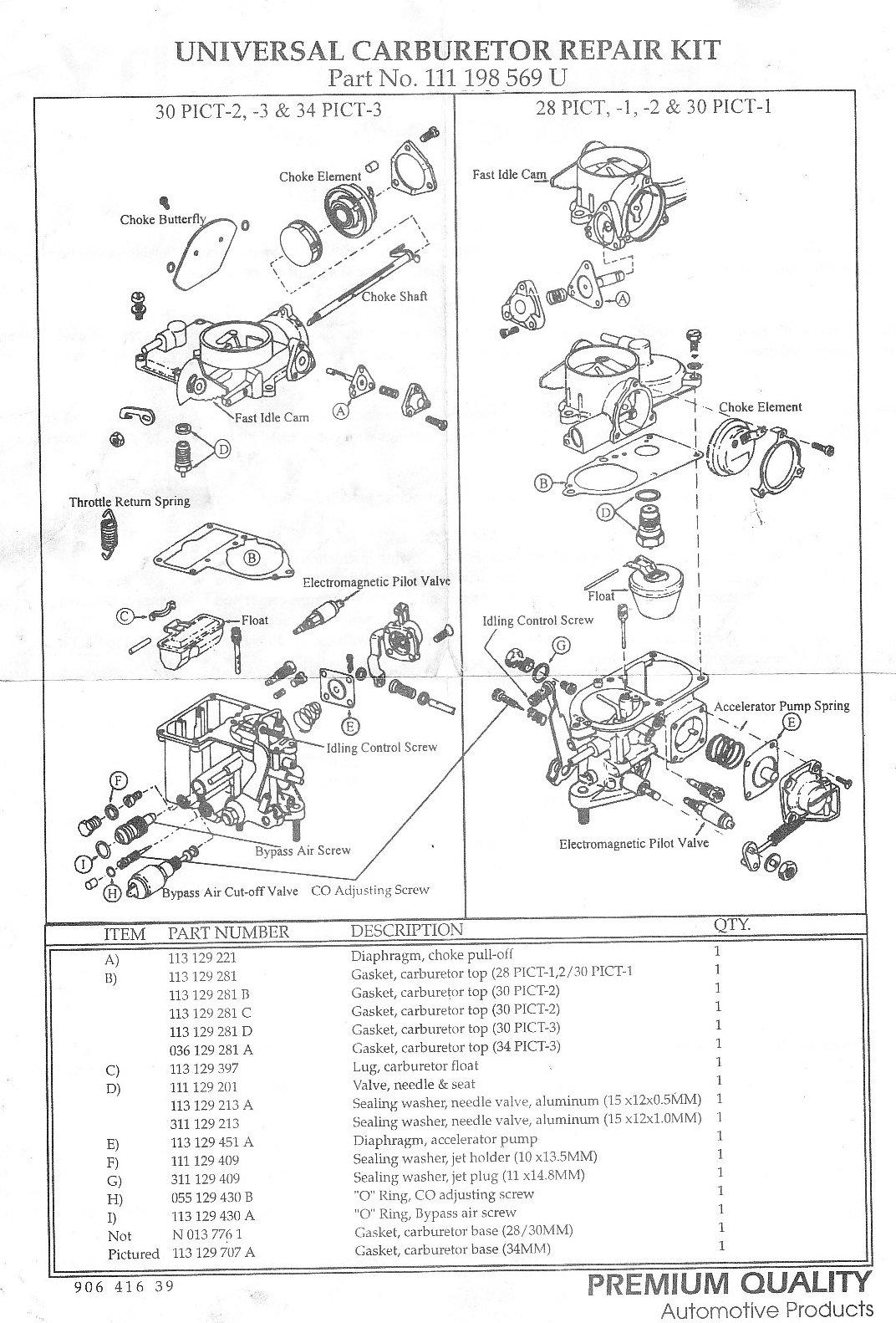 solex 28 pict diagram
