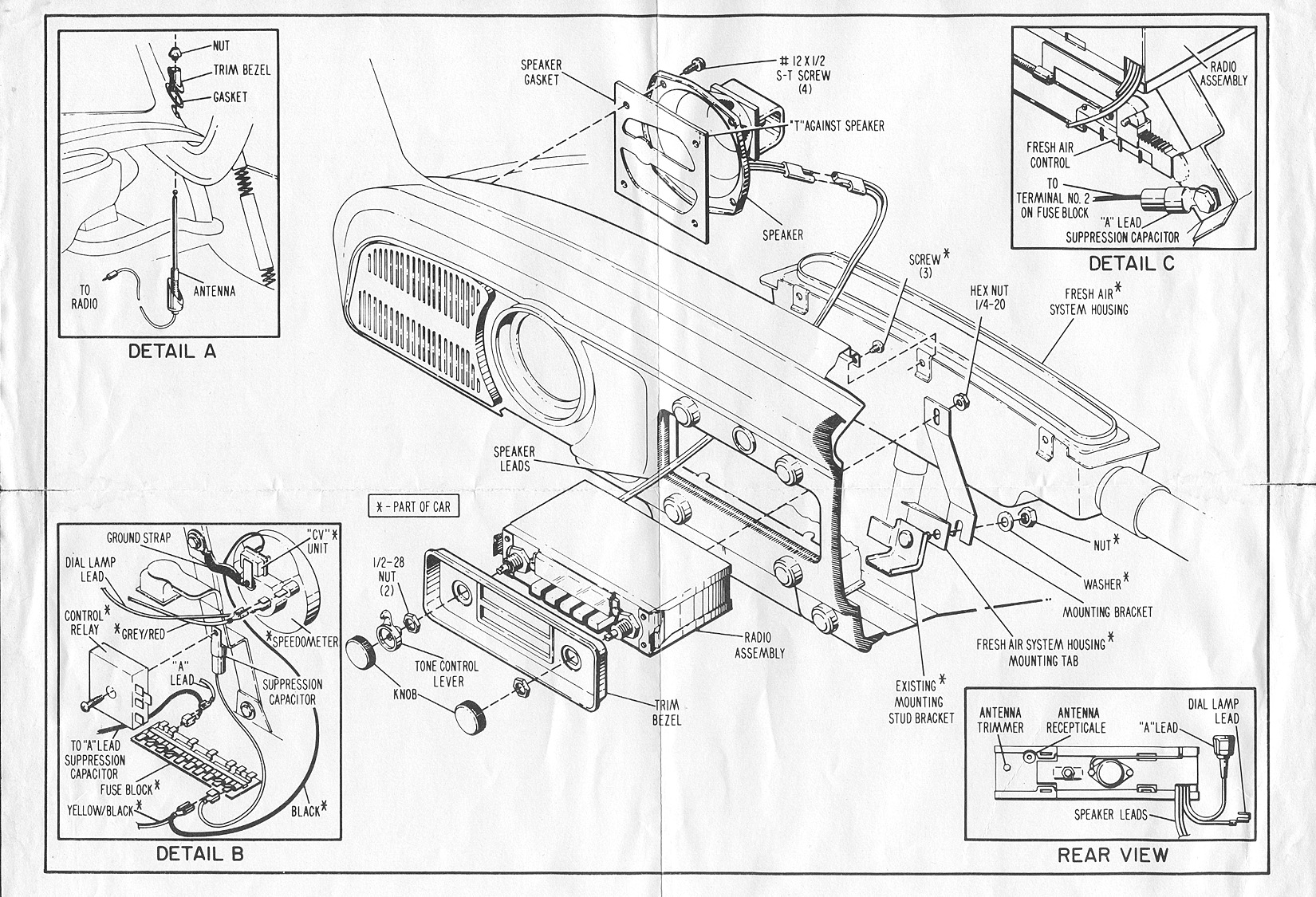 Toyota Fuse Box Diagram Archives Auto Electrical Wiring Service Manual 1994 Volkswagen Jetta Engine Timing Chain