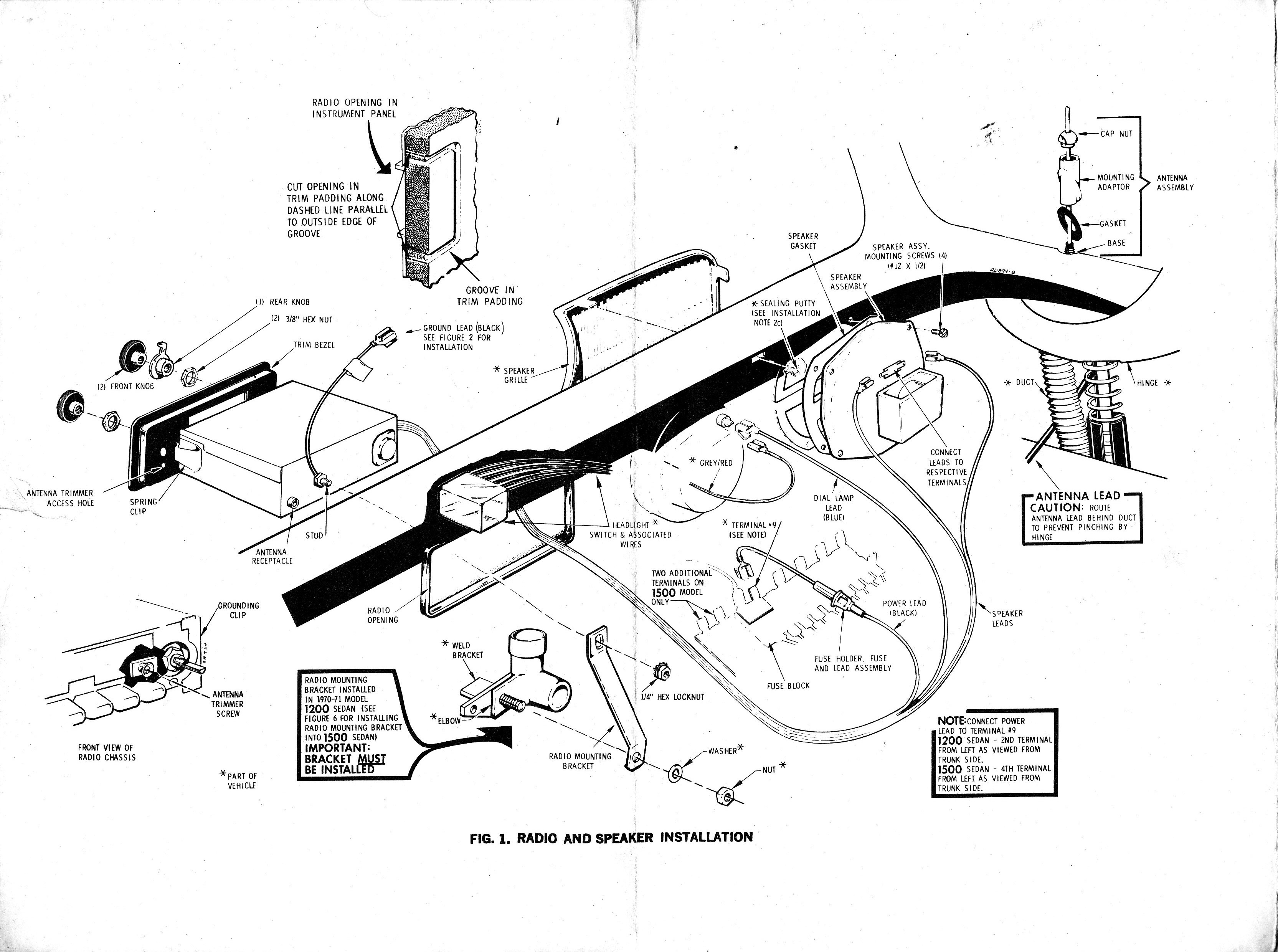 vw beetle wiring diagram 1966