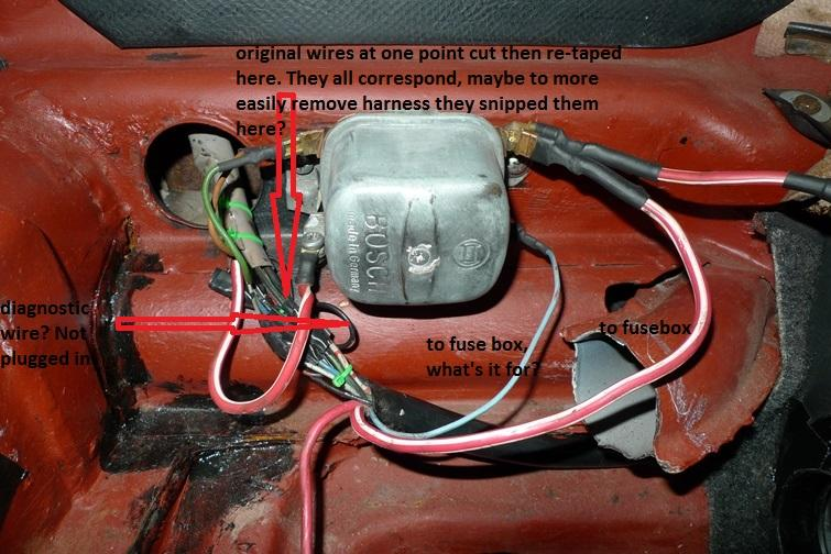 Vw Bug Voltage Regulator Wiring Diagram - Wiring Solutions