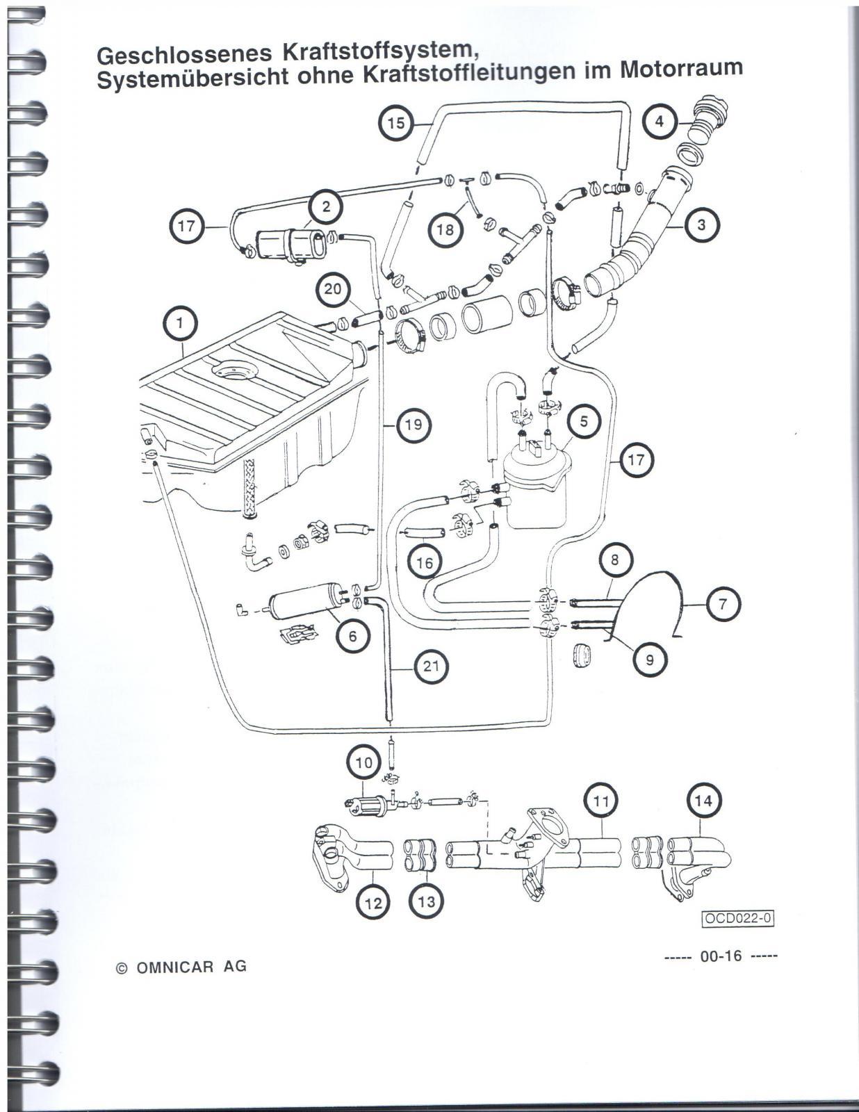 volkswagen beetle wiring diagram 1991
