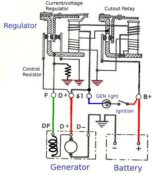 vw generator wiring