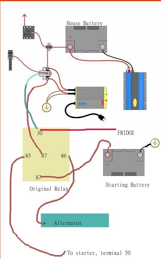 vanagon battery wiring diagram