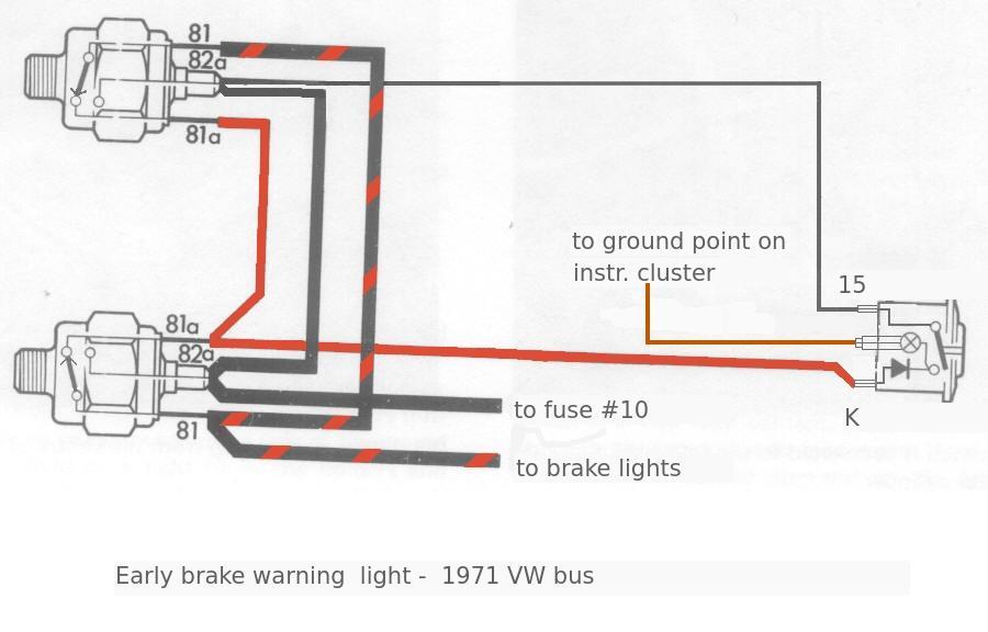 1973 vw bus radio wiring
