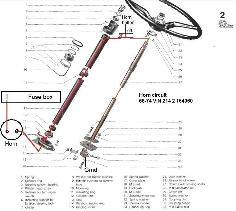 1973 vw kombi wiring diagram