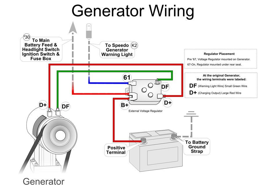 Vw Voltage Regulator Wiring - Wiring Diagrams